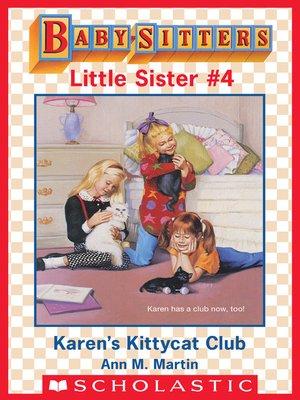 cover image of Karen's Kittycat Club