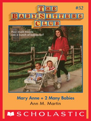 cover image of Mary Anne + 2 Many Babies