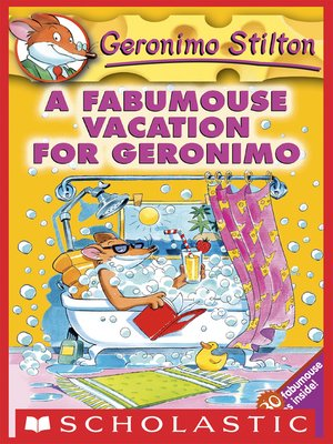 cover image of A Fabumouse Vacation for Geronimo
