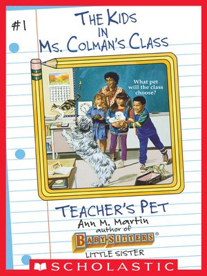 cover image of Teacher's Pet