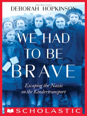 cover image of We Had to Be Brave