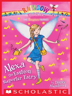 cover image of Alexa the Fashion Reporter Fairy