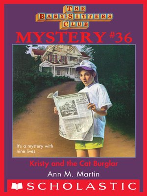 cover image of Kristy and the Cat Burglar