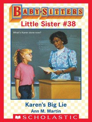 cover image of Karen's Big Lie