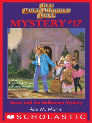 cover image of Dawn and the Halloween Mystery