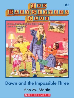 cover image of Dawn and the Impossible Three