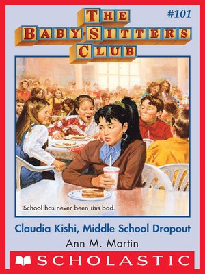 cover image of Claudia Kishi, Middle School Drop-Out