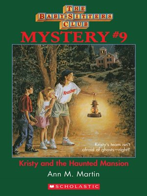 cover image of Kristy and the Haunted Mansion