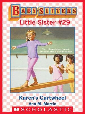 cover image of Karen's Cartwheel