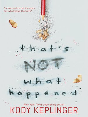 cover image of That's Not What Happened