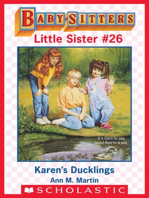 cover image of Karen's Ducklings