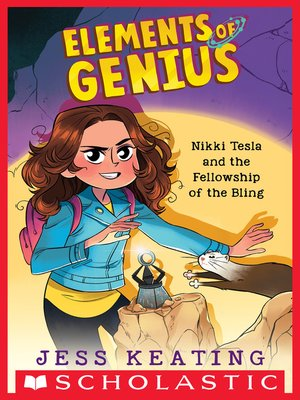 cover image of Nikki Tesla and the Fellowship of the Bling