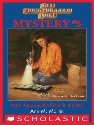 cover image of Mary Anne and the Secret in the Attic