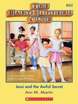 cover image of Jessi and the Awful Secret