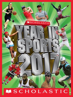 cover image of Scholastic Year in Sports 2017