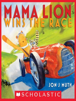 cover image of Mama Lion Wins the Race