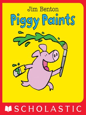 cover image of Piggy Paints