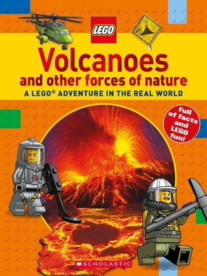 cover image of Volcanoes and other Forces of Nature (LEGO Nonfiction)