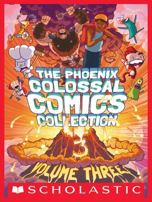 cover image of The Phoenix Colossal Comics Collection, Volume 3