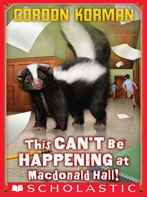 cover image of This Can't Be Happening at Macdonald Hall!