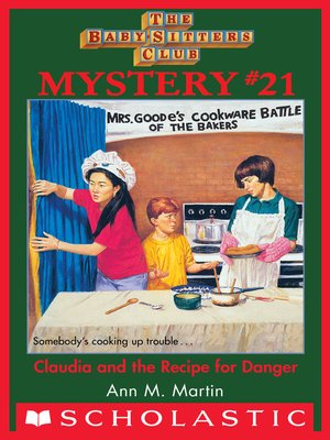 cover image of Claudia and the Recipe for Danger
