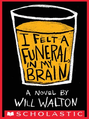 cover image of I Felt a Funeral In My Brain