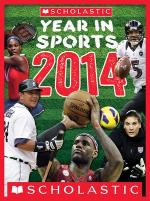 cover image of Scholastic Year in Sports 2014
