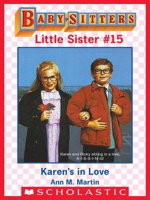 cover image of Karen's in Love