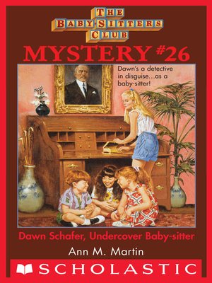 cover image of Dawn Schaffer Undercover Baby-Sitter