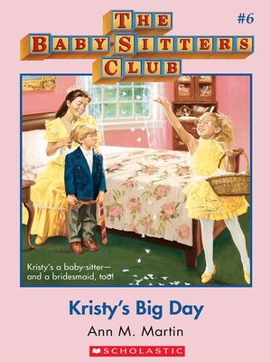 cover image of Kristy's Big Day
