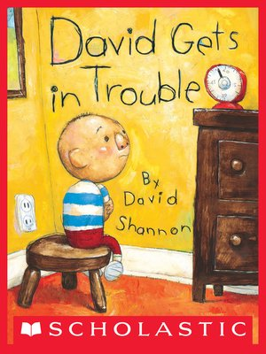 cover image of David Gets in Trouble