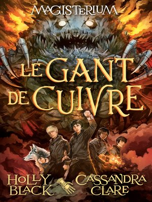 cover image of Le gant de cuivre