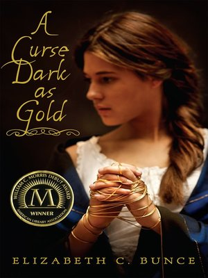 cover image of A Curse Dark as Gold