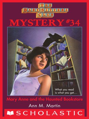 cover image of Mary Anne and the Haunted Bookstore