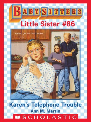 cover image of Karen's Telephone Trouble