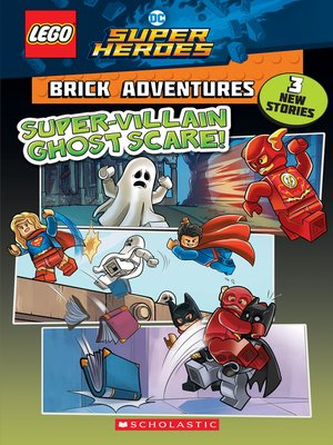 cover image of Super-Villain Ghost Scare!
