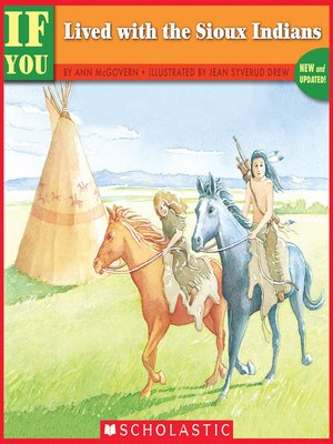 cover image of If You Lived with the Sioux Indians