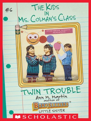 cover image of Twin Trouble