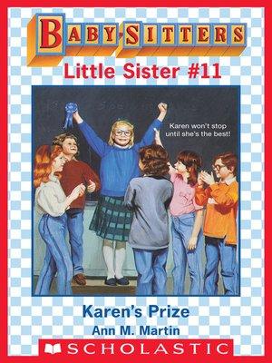 cover image of Karen's Prize