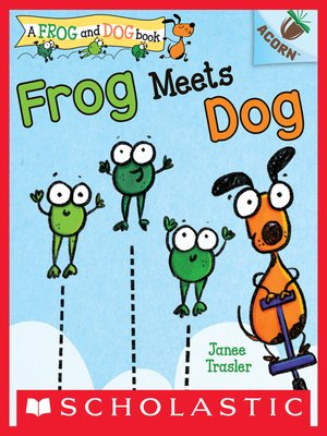 cover image of Frog Meets Dog