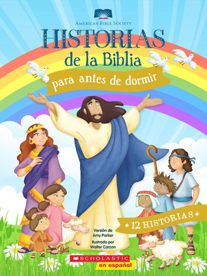cover image of Historias de la Biblia para antes de dormir (Five-Minute Bedtime Bible Stories)