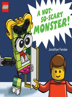 cover image of A Not-So-Scary Monster!