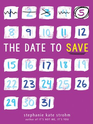 cover image of The Date to Save