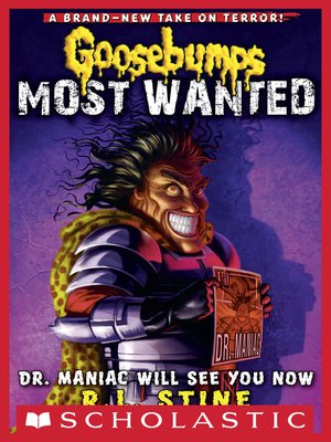 cover image of Dr. Maniac Will See You Now