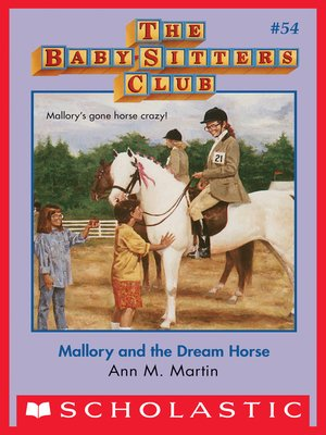 cover image of Mallory and the Dream Horse