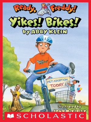 cover image of Yikes Bikes!