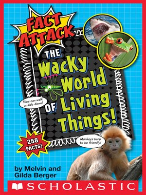 cover image of The Wacky World of Living Things!