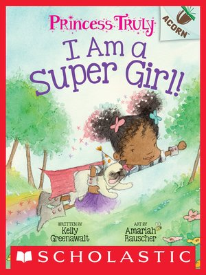 cover image of I Am a Super Girl!