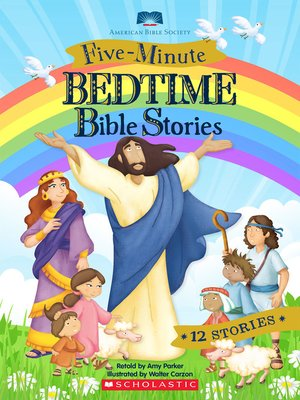 cover image of Five-Minute Bedtime Bible Stories