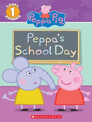 cover image of Peppa's School Day